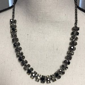WHBM Black/Onyx. Stone Necklace